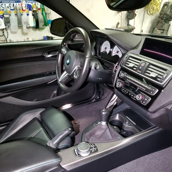 BMW M2 Interior Detailed by Performance Detailz