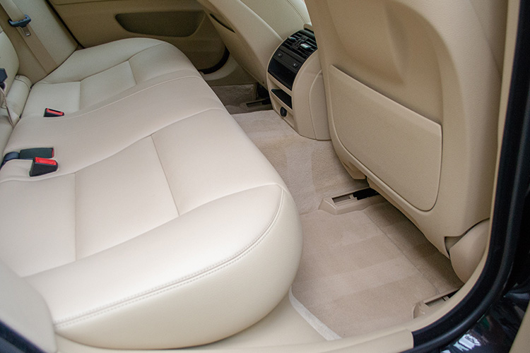 Protected Leather Seats of a BMW 335i GT