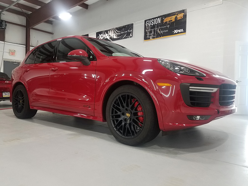 Porsche Gloss Enhancement